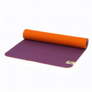 reyoga free light orange violet joga prostirka