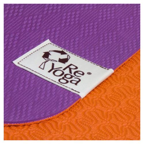 reyoga free light orange violet joga prostirka