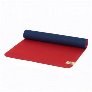 reyoga free light red dark blue joga prostirka