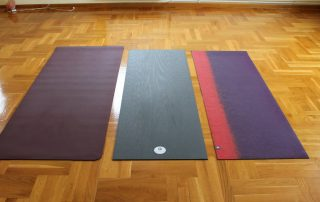 Manduka ProLite vs Manduka EkoLite vs Prana ECO Large