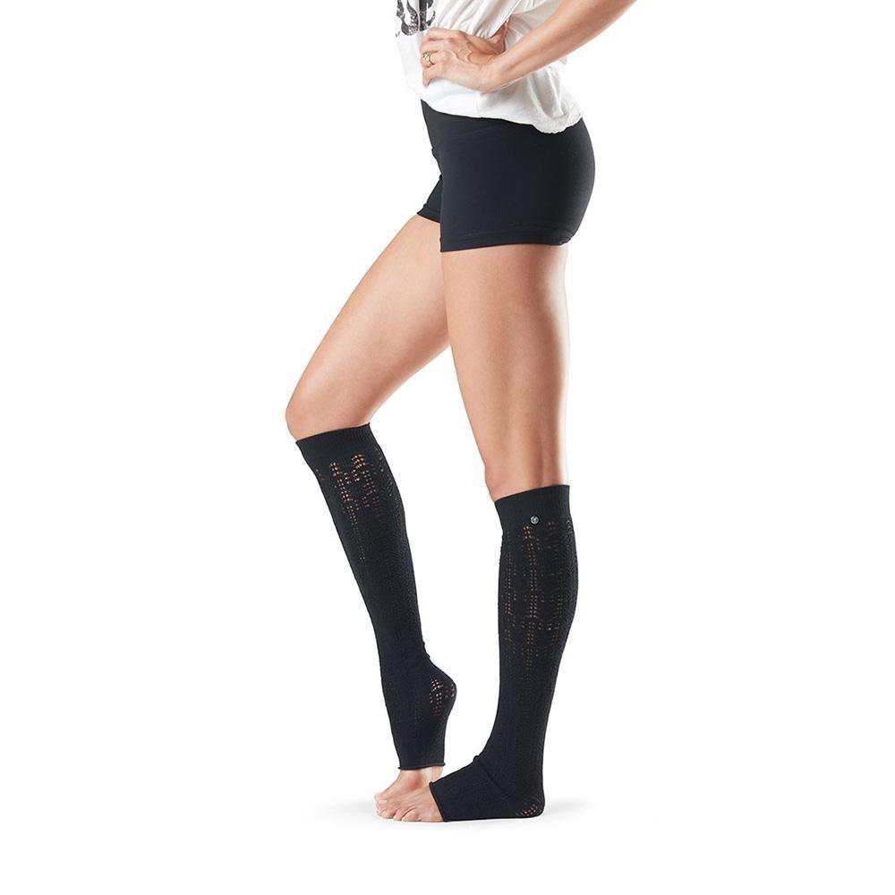 toesox leg warmer ava grejaci za noge black