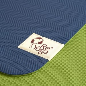 reyoga free light blue green joga prostirka