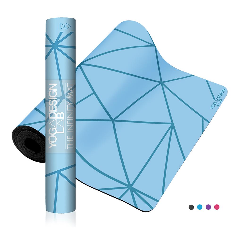 Yoga Design Lab Infinity Geo Aqua Joga Prostirka
