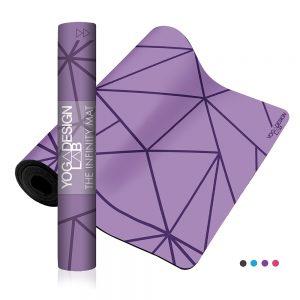 Yoga Design Lab Infinity Geo Lavender Joga Prostirka