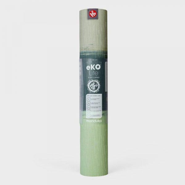 Manduka Eko Lite 4mm Green Ash Stripe