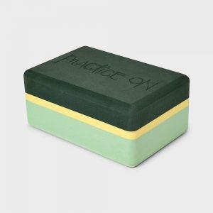 Manduka Recycled Foam Joga Blok Green Ash