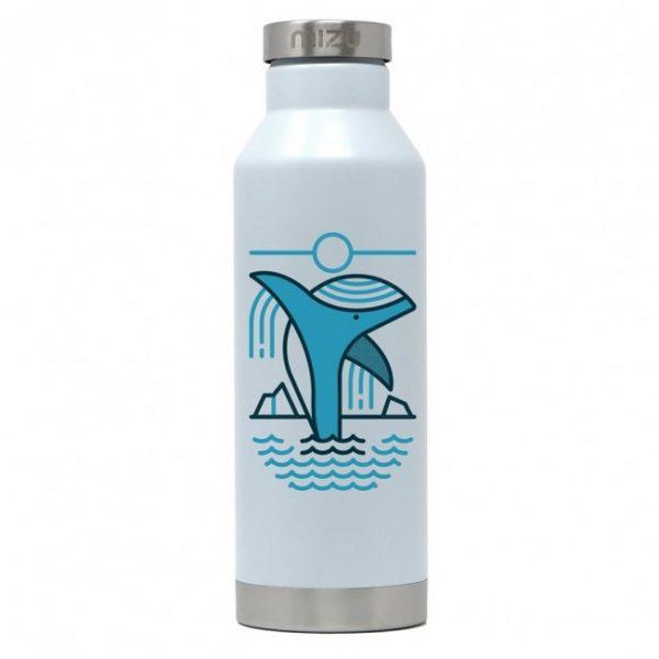 Mizu V6 Termo Boca Za Vodu 570ml Ice Blue Whale