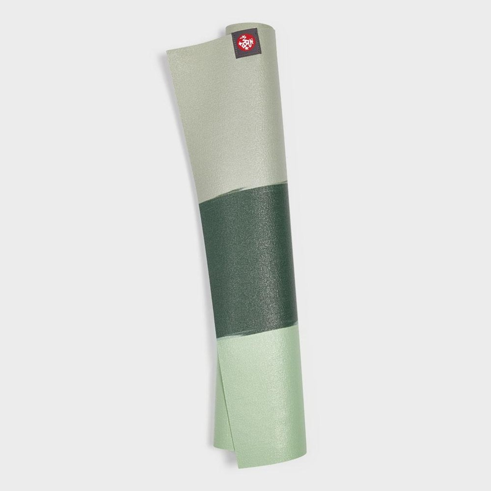 manduka eko superlite 1.5mm green ash stripe