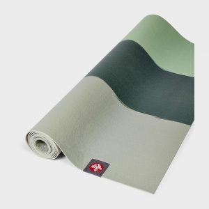 manduka eko superlite 1.5mm green ash stripe